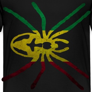 RASTA SPIDER FLAG Baby & Toddler Shirts - Toddler Premium T-Shirt