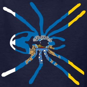 CANARY ISLAND SPIDER FLAG Kids' Shirts - Kids' T-Shirt