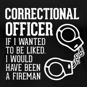 Correctional Officer - Women's Premium T-Shirt