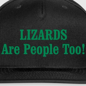 LIZARDS Are People Too! Sportswear - Snap-back Baseball Cap