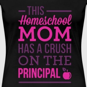 Homeschool Mom Crush - Women's Premium T-Shirt