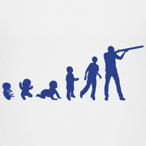 evolution skeet shoots man rifle Kids' Shirts - Kids' Premium T-Shirt