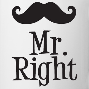 Mr. Right Mugs & Drinkware - Coffee/Tea Mug
