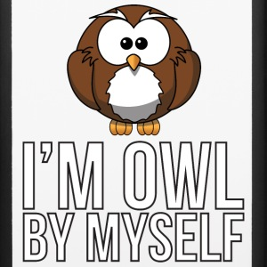 I'm Owl By Myself Phone & Tablet Cases - iPhone 6/6s Rubber Case