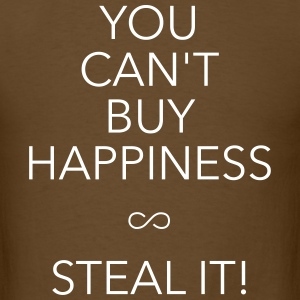 you can't buy happiness T-Shirts - Men's T-Shirt
