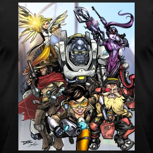 Team Overwatch Shirt - Men's T-Shirt by American Apparel