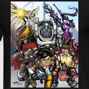 Team Overwatch - Men's Premium T-Shirt