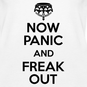 Now Panic and Freak Out Tanks - Women's Premium Tank Top