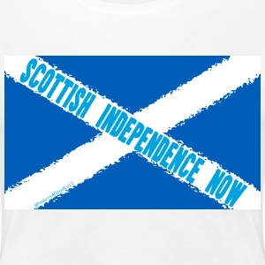 Scottish Independence Now - Women's Premium T-Shirt