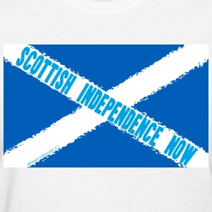 Scottish Independence Now - Women's T-Shirt