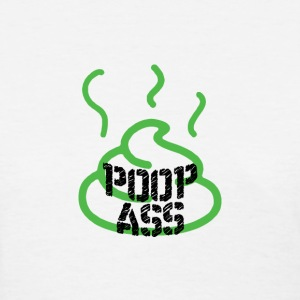 POOP ASS T-Shirts - Women's T-Shirt