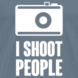 I Shoot People T-Shirts - Men's Premium T-Shirt
