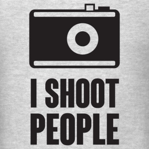 I Shoot People T-Shirts - Men's T-Shirt