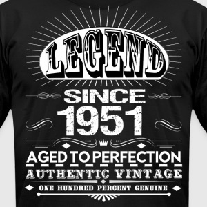 LEGEND SINCE 1951 T-Shirts - Men's T-Shirt by American Apparel