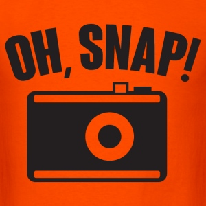 Oh, snap (photography) T-Shirts - Men's T-Shirt