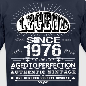 LEGEND SINCE 1976 T-Shirts - Men's T-Shirt by American Apparel