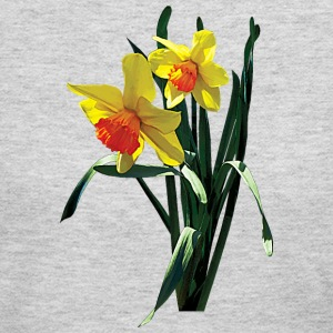 Curious Daffodils Long Sleeve Shirts - Women's Long Sleeve Jersey T-Shirt