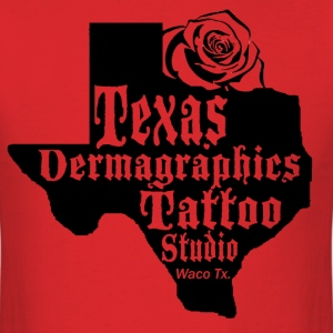 Texas Dermagraphics Texas Rose Logo copy.png T-Shirts - Men's T-Shirt