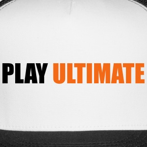 Play Ultimate: Ultimate Frisbee Hat - Trucker Cap