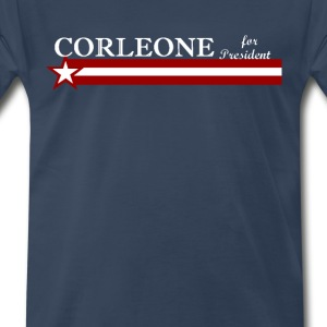 corleone for president T-Shirts - Men's Premium T-Shirt