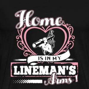 Lineman's Girl Shirt - Men's Premium T-Shirt