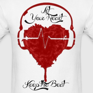 Heart-Beat Red Tee - Men's T-Shirt