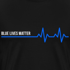 Blue Lives Matter T-Shirts - Men's Premium T-Shirt