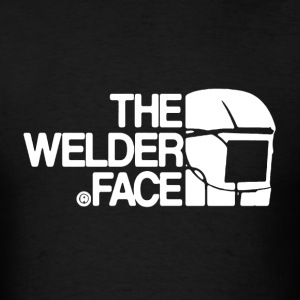 The Welder Face Shirt - Men's T-Shirt