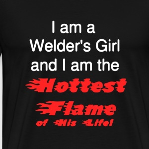 Welder's Girl Shirt - Men's Premium T-Shirt