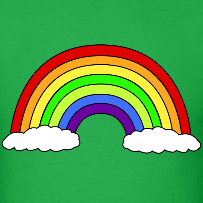 Rainbow Men's Tshirt