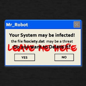 fsociety mr robot hack T-Shirts - Men's T-Shirt