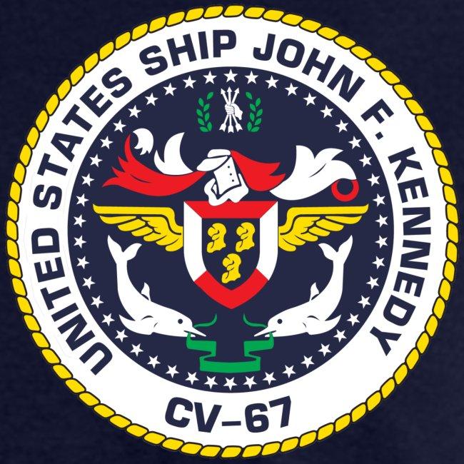 USS JOHN F KENNEDY CV-67 MED CRUISE 1977 CRUISE SHIRT