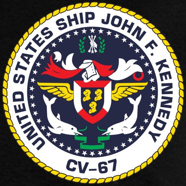 USS JOHN F KENNEDY CV-67 MED CRUISE 1983-84 CRUISE SHIRT