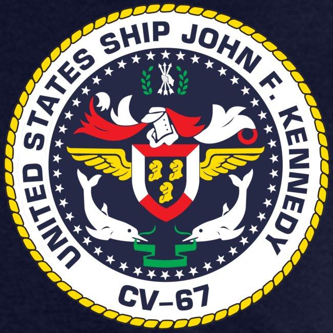 USS JOHN F KENNEDY CV-67 1996 CRUISE SHIRT