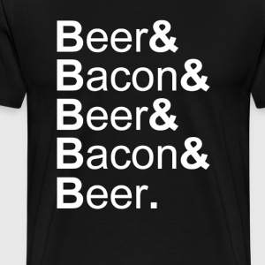 Beer&Bacon - Men's Premium T-Shirt