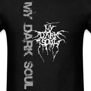 My Dark Soul Big Letters - Men's T-Shirt
