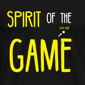 Ultimate Frisbee T-Shirt: Spirit of the Game - Men's Premium T-Shirt