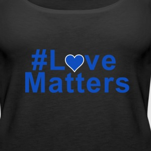 #Love Matters - Women's Premium Tank Top