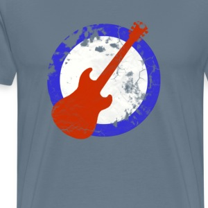 guitar mod tee distressed T-Shirts - Men's Premium T-Shirt