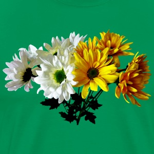 Bouquet of Yellow and White Daisies T-Shirts - Men's Premium T-Shirt