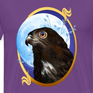 Black-chested snake eagle  - Men's Premium T-Shirt