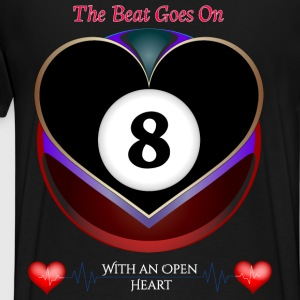 The Beat Goes On T-Shirts - Men's Premium T-Shirt