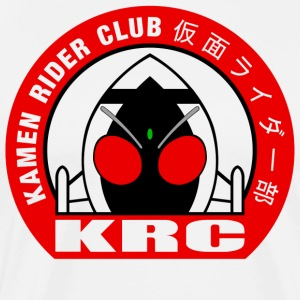 Kamen Rider Club Logo 01 - Men's Premium T-Shirt