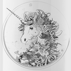 Head of a unicorn Sportswear - Water Bottle