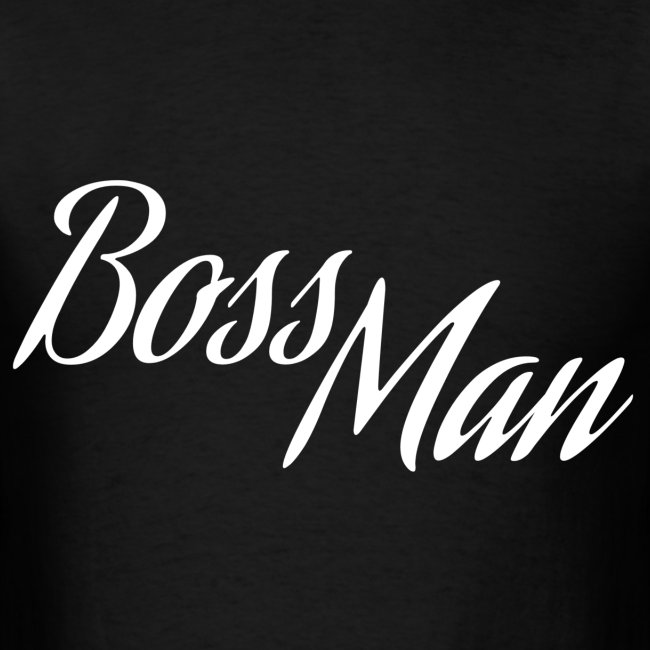 Boss Man White