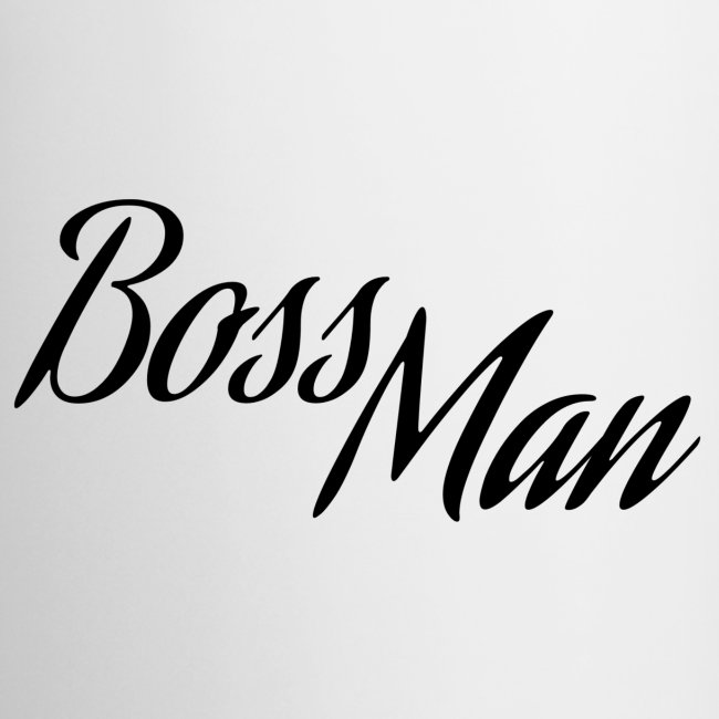 Boss Man Mug