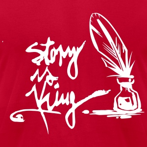 Men´s T-Shirt Story is King red - Men's T-Shirt by American Apparel
