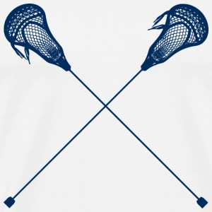 lacrosse stick - Men's Premium T-Shirt