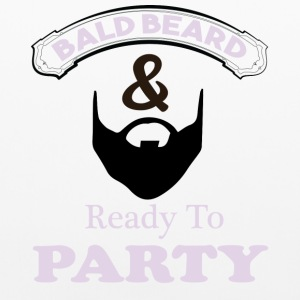 Bald Beard & Ready To Party Pillowcase - Pillowcase