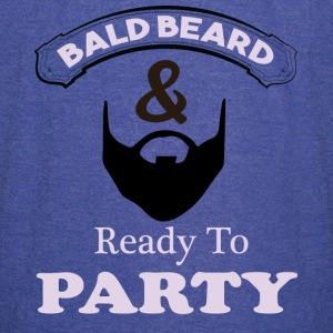 Bald Beard & Ready To Party Vintage Sport T-Shirt - Vintage Sport T-Shirt